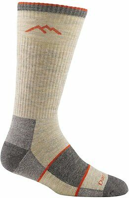 Men's Merino Wool Boot Full Cushion Socks, DARN TOUGH, Medium Oatmeal