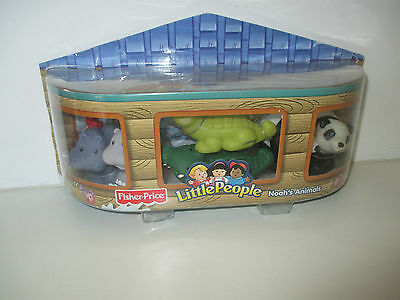 Fisher Price Little People Noah's Ark Noah's Animals Ages 1-5
