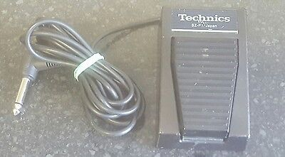 Original Technics SZ-P1 Keyboard Sustain Pedal