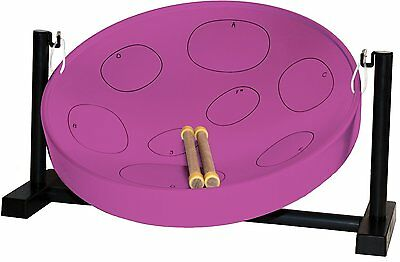 Jumbie Jam JJ3050 Table Top Steel Pan Kit with Table Top Stand and Mallets -