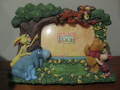 Wiinie The Pooh Photo Picture Frame Baby Nursery Girls Boys Room