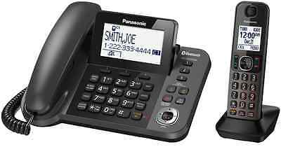 NEW Panasonic DECT Corded + Cordless Home Phone WITH BLUETOOTH KXTGF380AZM