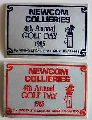 Newcom Collieries Golf Day Mining Stickers