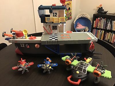 Fisher Price Imaginext Sky Racers Carrier
