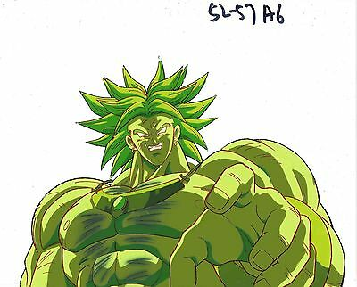 Dragonball Z Broly Anime Production Cel Cellulo Toei Animation