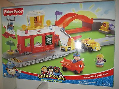 Fisher Price Little People Discovery Airport - Ages 1.5+