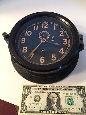 Vintage CHELSEA Clock Co. Boston Bakelite Clock
