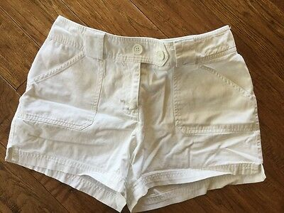 Womens New York and Co. White Shorts Size 6