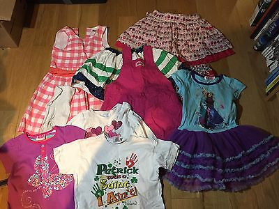 Girls summer clothes bundle age 3-4