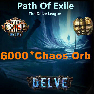 300 x Chaos Orb - Path of Exile PoE 3.2 Currency für Bestiary League Softcore SC
