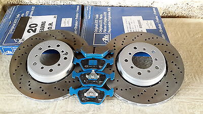 Bmw M3 E46 front pair brake discs and pads