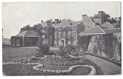 EARLHAM HALL near Norwich, Old Postcard Postally Used 1908