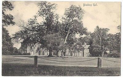 BLANKNEY HALL Lincolnshire, Old Postcard by Caleb C Smith, Unused