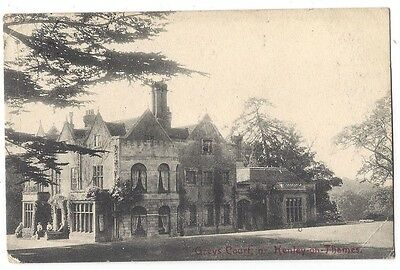 HENLEY ON THAMES Greys Court, Old Postcard Postally Used 1906