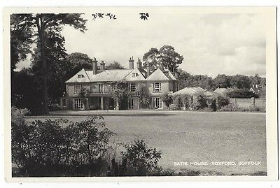 YOXFORD Satis House, Suffolk, Plain Back RP Postcard Unused