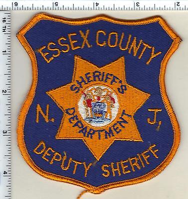 Essex County Sheriff's Dept (New Jersey) Deputy Sheriff Shoulder Patch from 1992