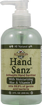 All-Natural Hand Sanz with Aloe and Vitamin E, All Terrain, 2 oz
