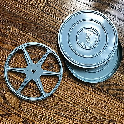 Vintage Movie Reel 8mm Made In USA With Storage Tin Dunn's Camera Convenience