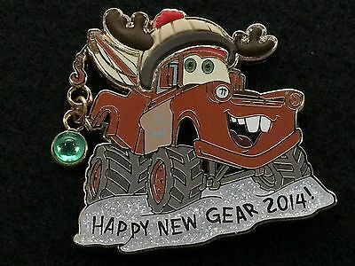 Disney Trading Pin Tow Mater Cars Happy New Gear 2014 *Artist Proof* AP 104450