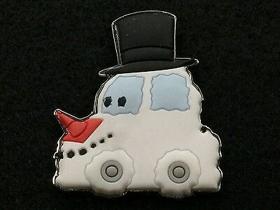 Disney Trading Pin Christmas In Cars Land Snowman *Artist Proof* AP 108292