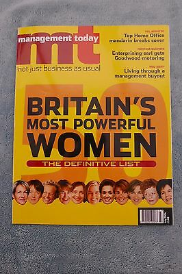 Management Today Magazine: July 2004, Most Powerful Women
