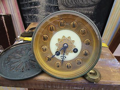 Antique French Clock Movement. Made In Paris