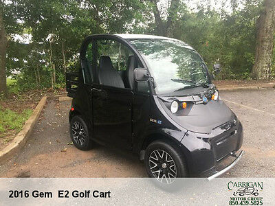 """2016 Gem Car """"e2"""" 212 Miles.. Excellent Condition!  Dont Miss Out On This Deal"""