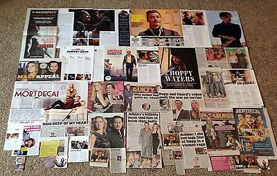 Johnny Depp Clippings Pictures Articles Photos Ads Old & New Rare 40+