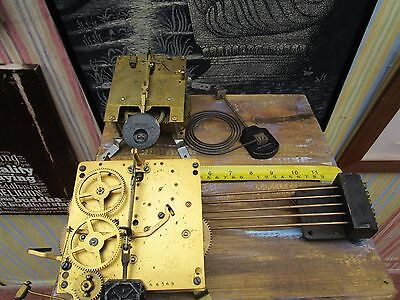 Westminster Chime Clock Movement & Chime Bars + 1 OTHER