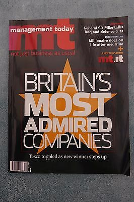 Management Today Magazine: December 2004, Britain's Most Admired Companies