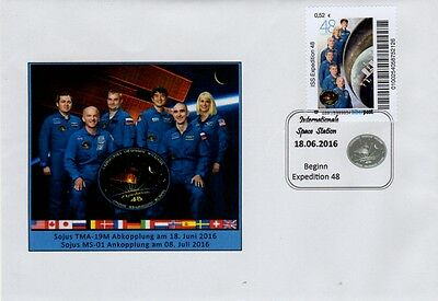 Space  Biberpost Beginn Expedition 48 2016