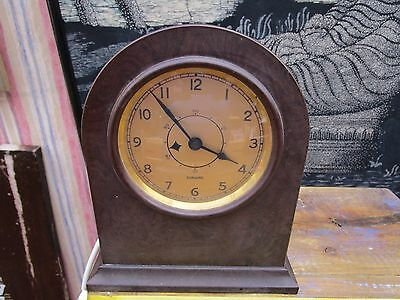 Rare Vintage Bakelite Sangamo Mantle Electric Clock Gwo