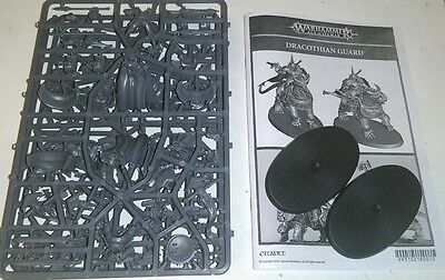 Warhammer Age of Sigmar Stormcast Eternals 2x Dracothian Guard New on Sprue