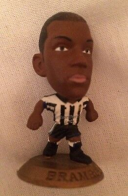Titus Bramble Newcastle United Corinthian Microstar Gold Base