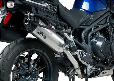 YOSHIMURA RS4 STAINLESS SLIP ON EXHAUST CAN TRIUMPH TIGER 1200 EXPLORER inc XC