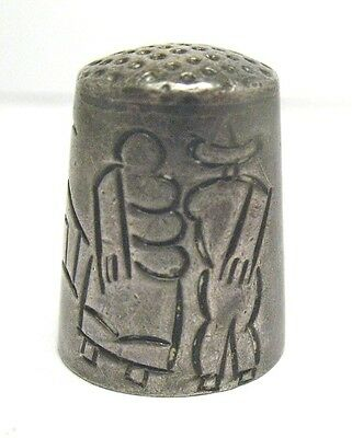 Vintage Sterling Silver Thimble Mexico Cony 269 6/22/17 #13  8.4 Grams