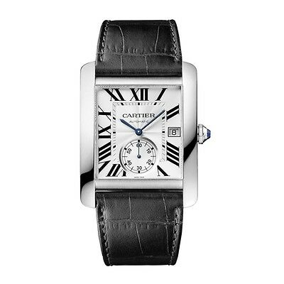 New Cartier Tank MC Automatic Mens Watch Ref W5330003