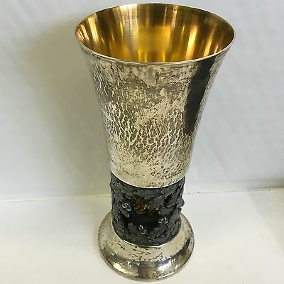 Solid Silver Hector Miller For Aurum New Forest Goblet 1979 Limited Edition