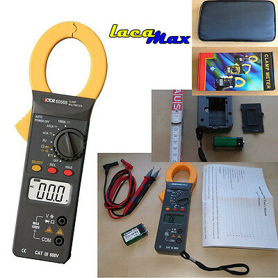 6056B Digital Pliers Multimeter ACDC Clamp meter Current Clip on ampere