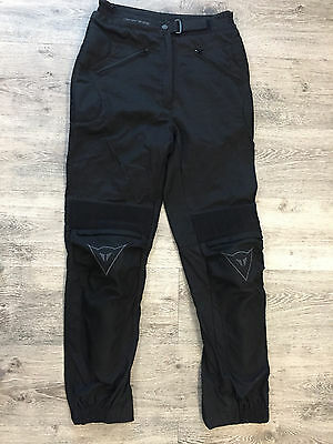 Dainese Textile Motorcycle Pants Riding Armored Size M 46