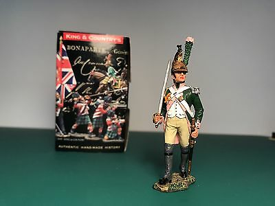 King And Country NA172 16th Dragoons Marching Officer with Sword French