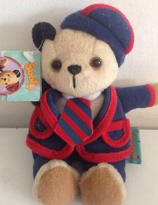 """ScampFROM TV SERIES SOOTY & SWEEP TOY APPROX 6.5"""" HIGH BY GOLDEN BEAR Beanie"""