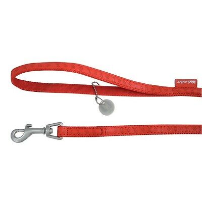 Laisse Mc Leather 25 Mm/120 Cm Rouge Zolux