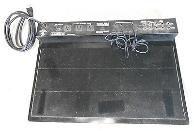 Furman SPB-8 Stereo Pedal Board and Power Conditioner
