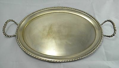 N4754 N° Stupendo Vassoio Tray In Silver Plated