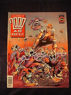 2000AD Monthly - Issue 76 - Jan 1992