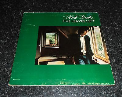 Nick Drake Five Leaves Left Vinyl Lp First Press Pink Eye Label Island 1969