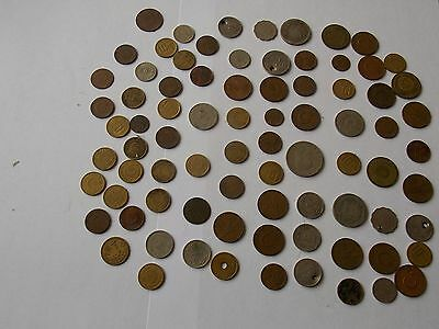 Good Selection Of Old Coins Turkey Plus Others