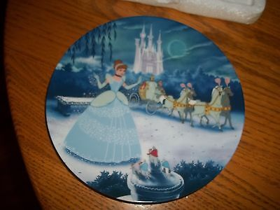 Bradford Exchange Collector's Plate Cinderella # 1 Knowles COA