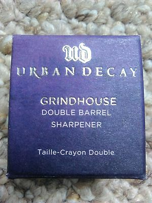 Urban Decay Lip/Eyeliner Sharpener GrindHouse Double Barrel Sharpener Purple NIB